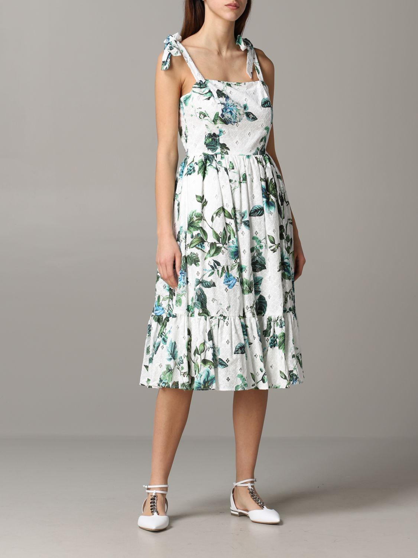 Dress Blumarine: Dress women Blumarine white 1