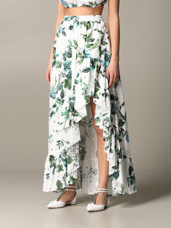 Skirt Blumarine: Skirt women Blumarine white 4