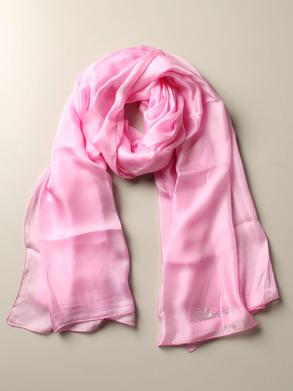 Платок Женское Blumarine розовый 2