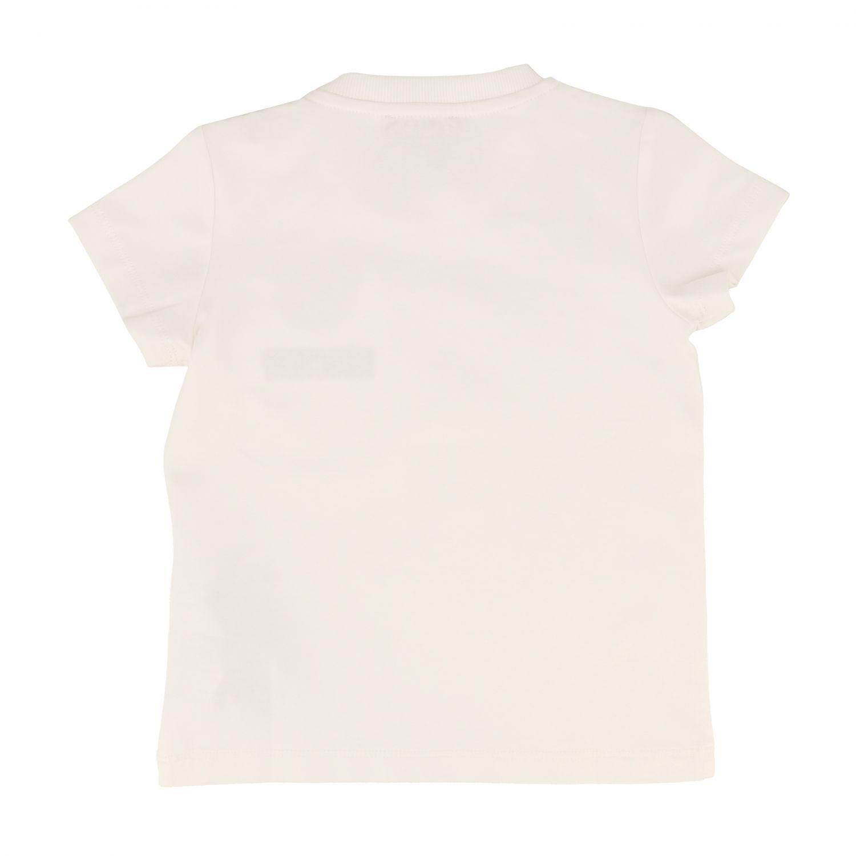 T-shirt kids Moschino Baby white 2