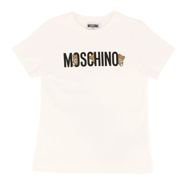 Camiseta niños Moschino Kid blanco 1