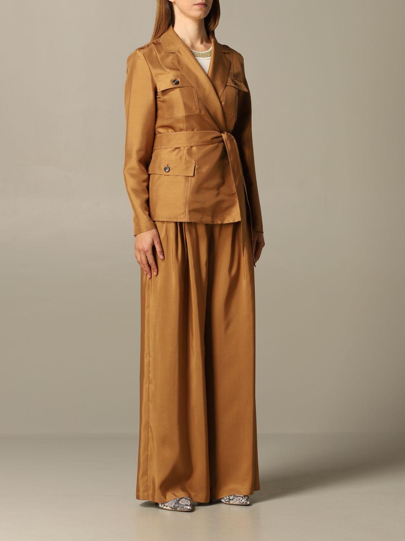 西服外套 女士 Max Mara 黄棕色 2
