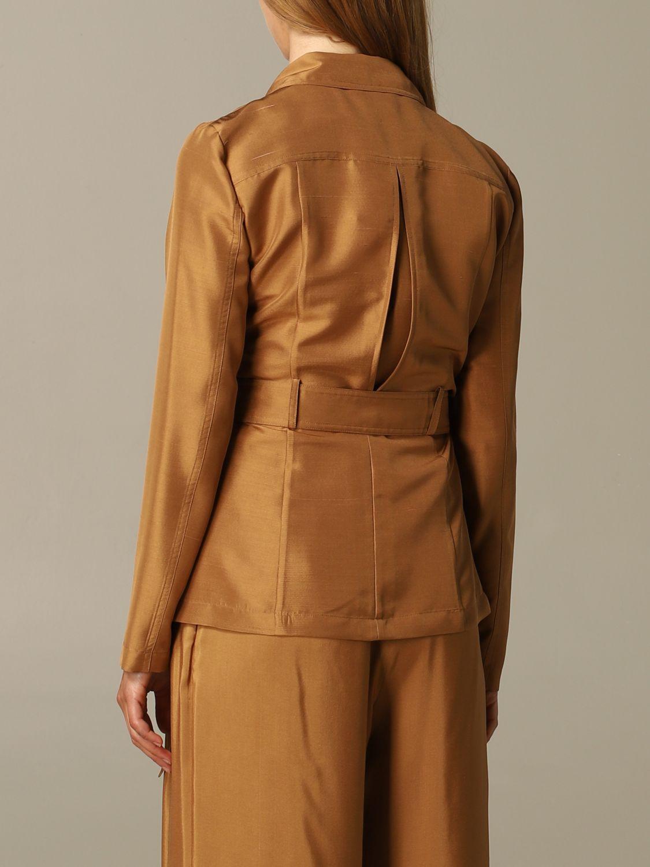 西服外套 女士 Max Mara 黄棕色 3