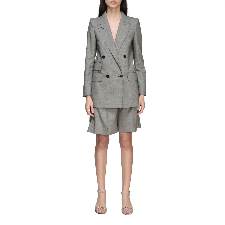Куртка Max Mara: Блейзер Женское Max Mara серый 1
