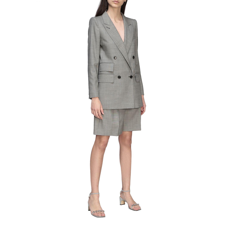 Куртка Max Mara: Блейзер Женское Max Mara серый 2