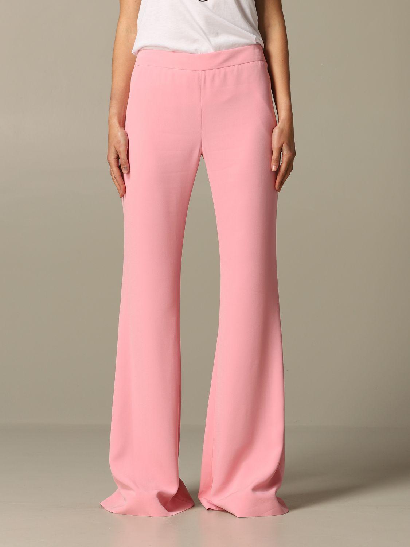 Trousers Balmain: Trousers women Balmain pink 1