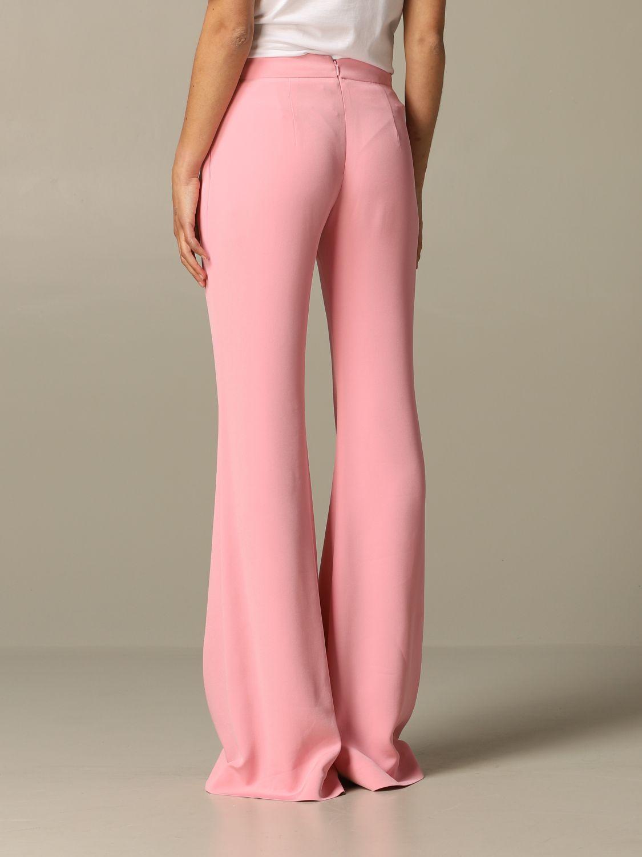Trousers Balmain: Trousers women Balmain pink 2