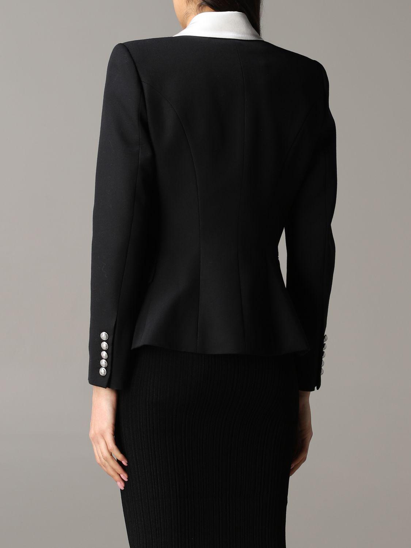 Jacket Balmain: Blazer women Balmain black 3