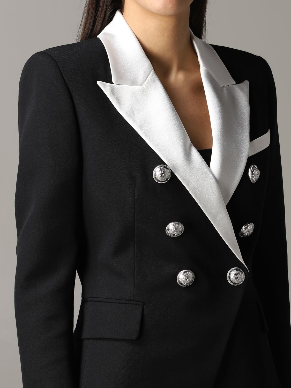 Jacket Balmain: Blazer women Balmain black 5