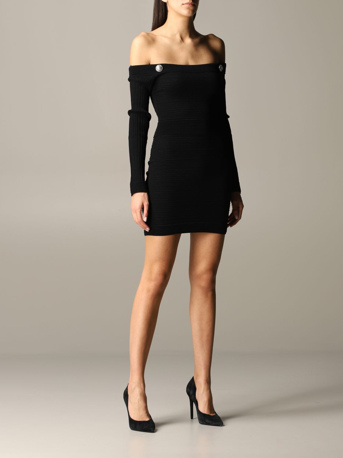 Dress Balmain: Dress women Balmain black 1