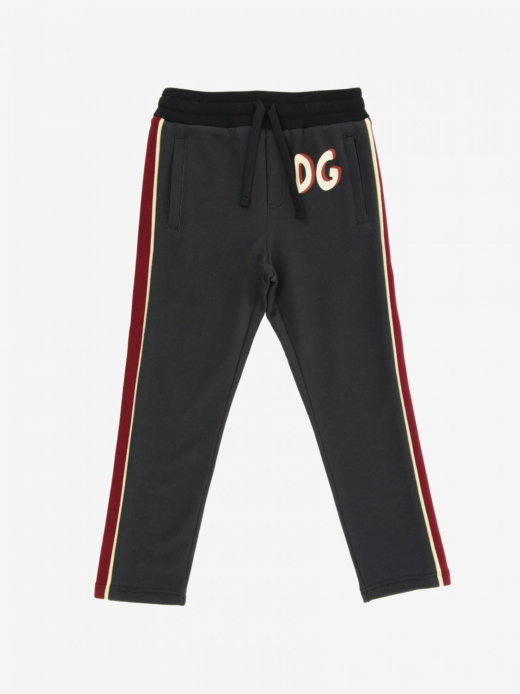 Dolce & Gabbana Jogginghose mit Logo schwarz 1