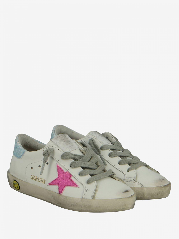 Shoes kids Golden Goose white 2