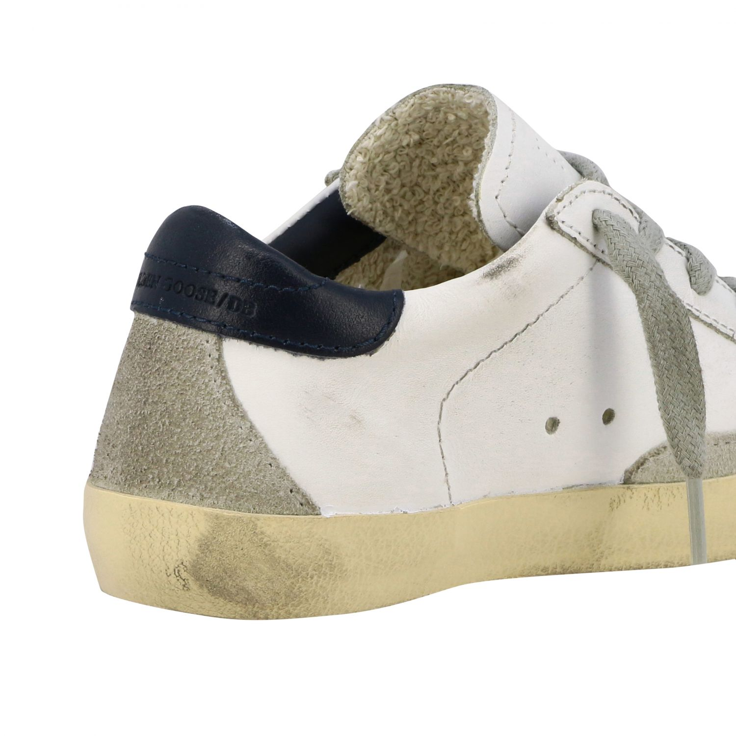 Superstar Golden Goose sneakers in leather and suede with star white 5