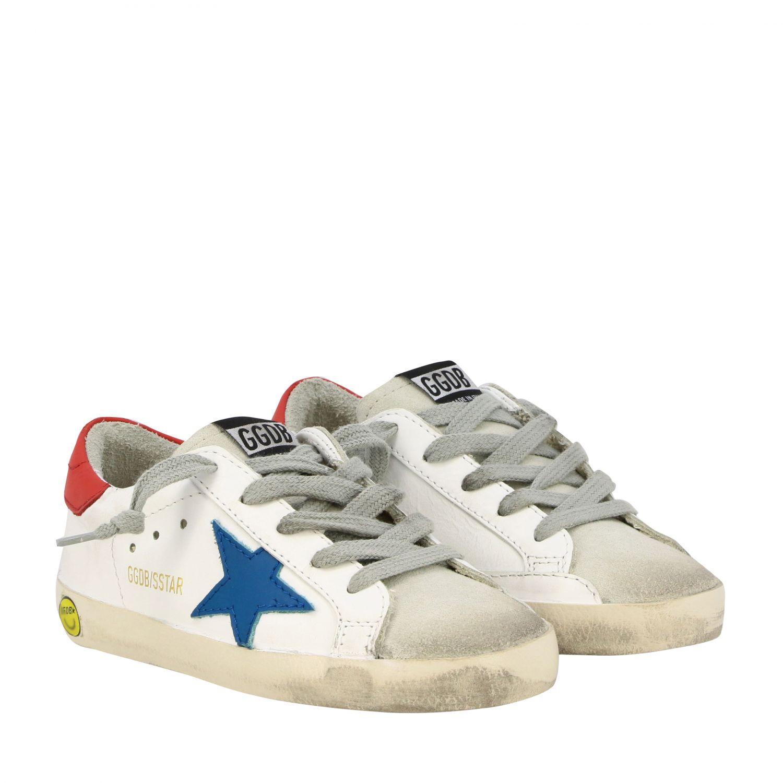 Zapatos niños Golden Goose blanco 2