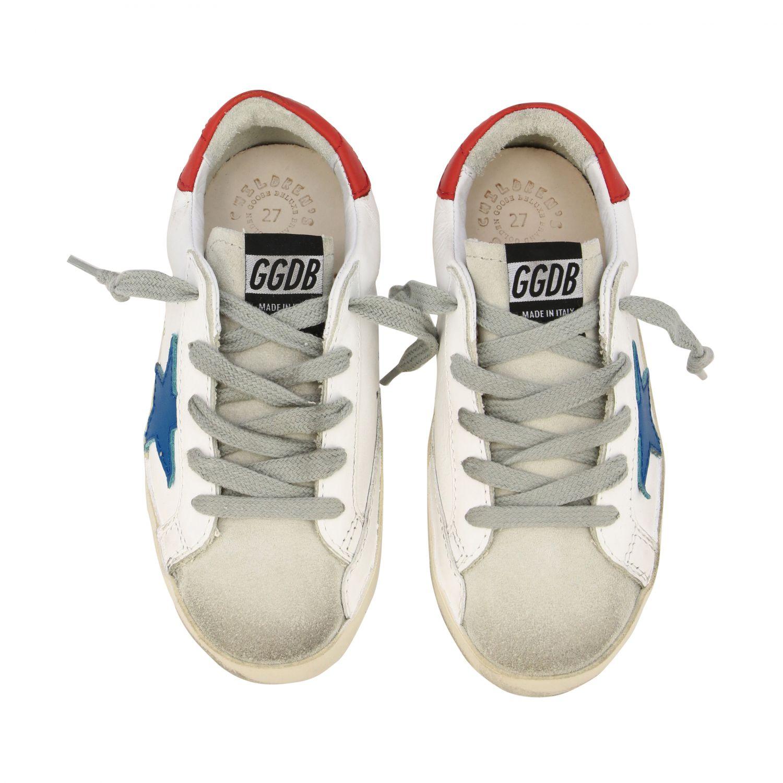 Zapatos niños Golden Goose blanco 3