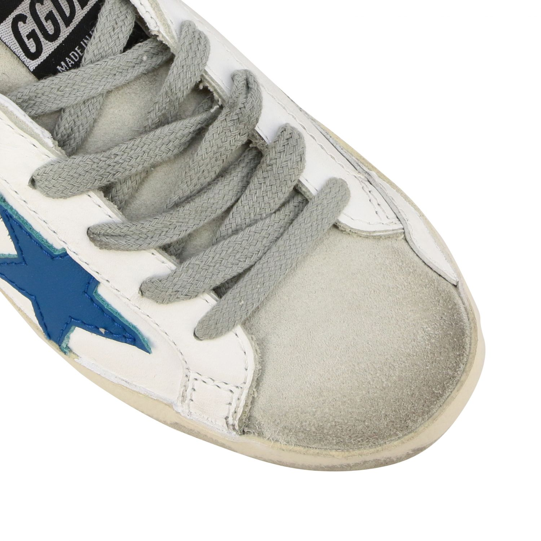 Zapatos niños Golden Goose blanco 4