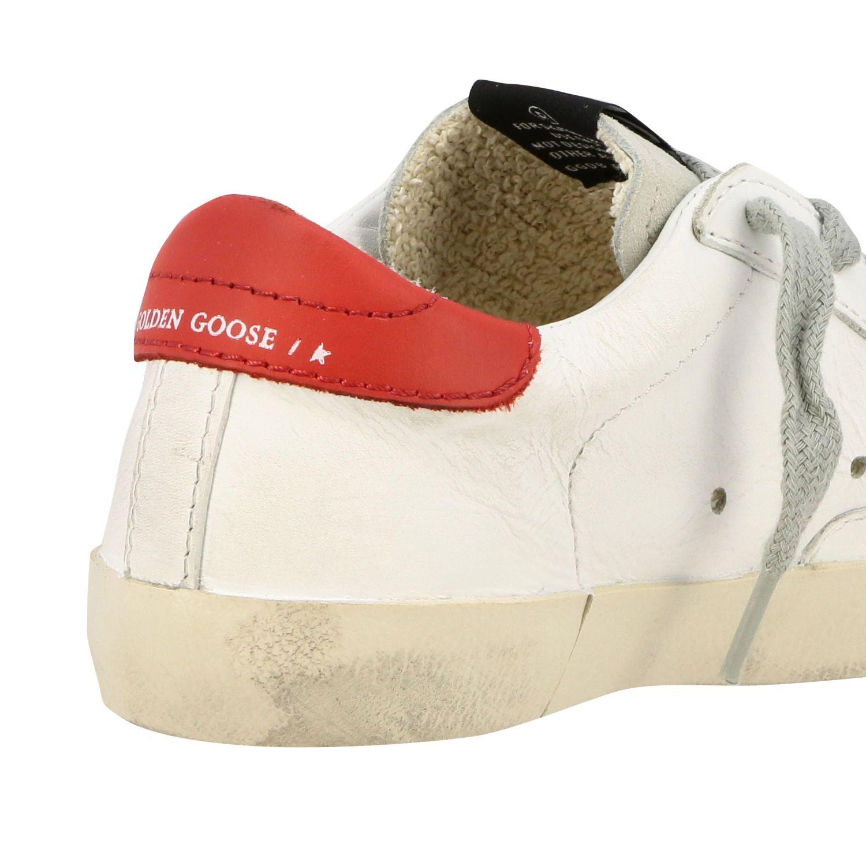 Zapatos niños Golden Goose blanco 5