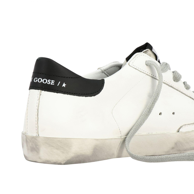 Golden Goose Superstar Sneakers aus Leder und Wildleder mit Stern weiß 5