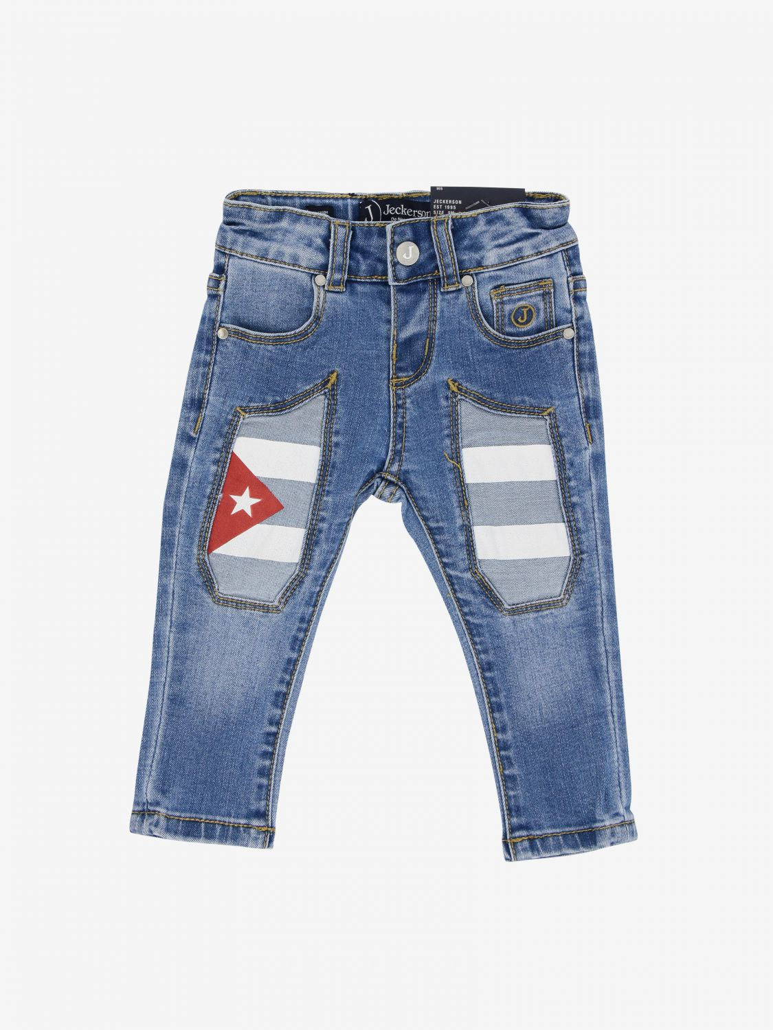 Jeans kinder Jeckerson stone washed 1