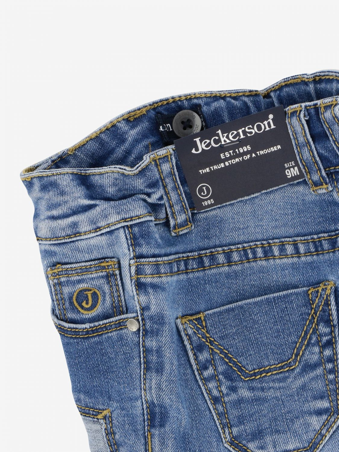 Jeans kinder Jeckerson stone washed 3