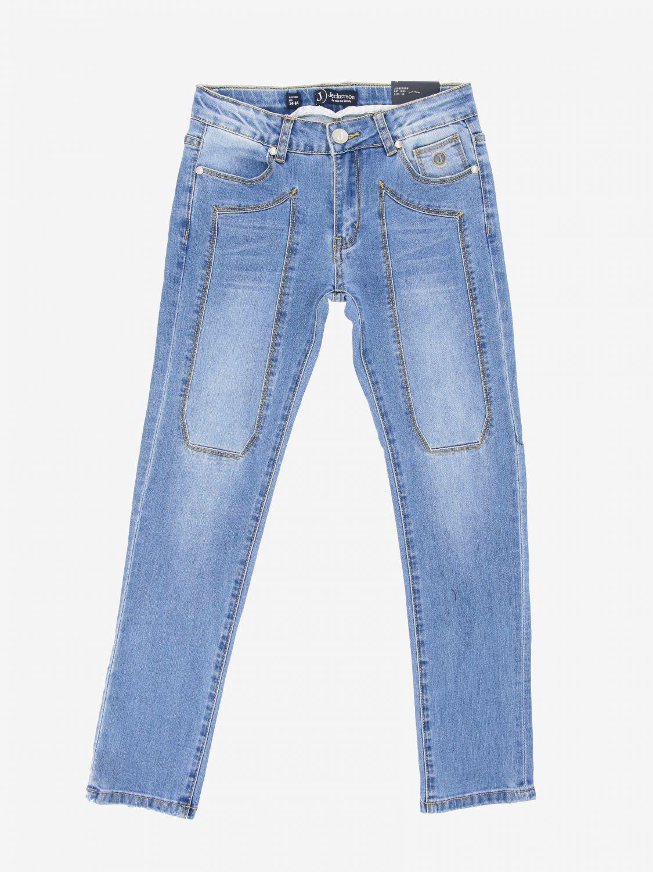 Jeckerson denim jeans with patches denim 1