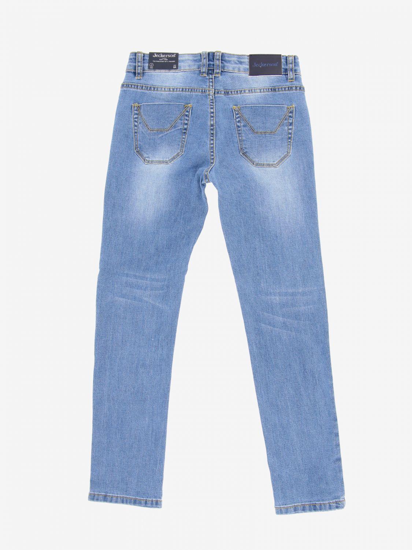 Jeckerson denim jeans with patches denim 2