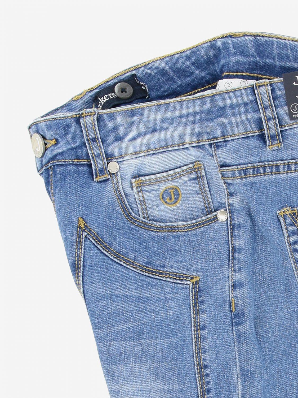 Jeckerson denim jeans with patches denim 3