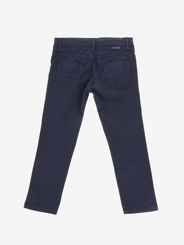 Jeckerson 弹性华达呢裤子 蓝色 2