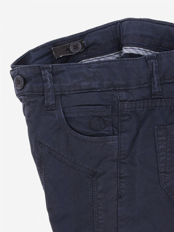 Jeckerson 弹性华达呢裤子 蓝色 3