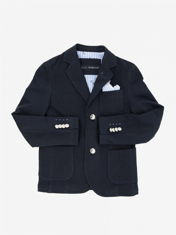 Jeckerson jersey jacket blue 1