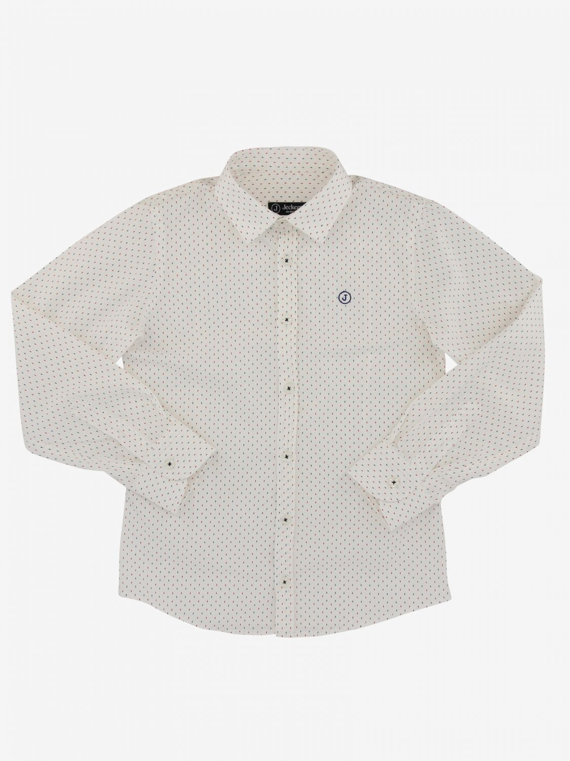 Shirt kids Jeckerson white 1
