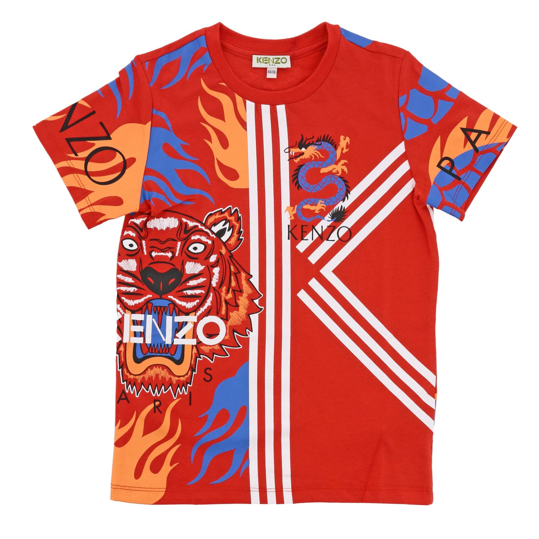 Футболка Детское Kenzo Junior красный 1