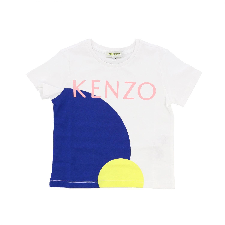 Camisetas niños Kenzo Junior blanco 1