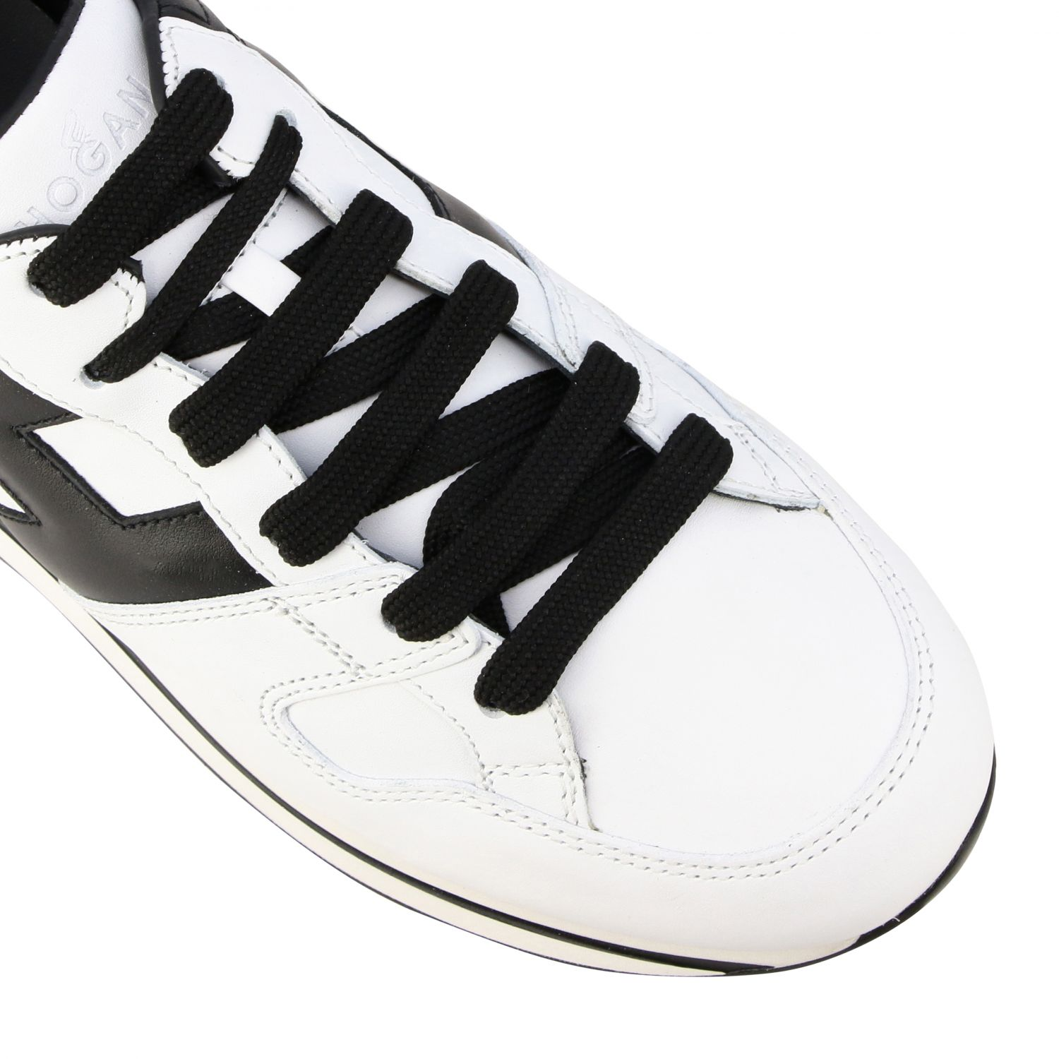 Sneakers 222 Hogan in pelle con big H bianco 4