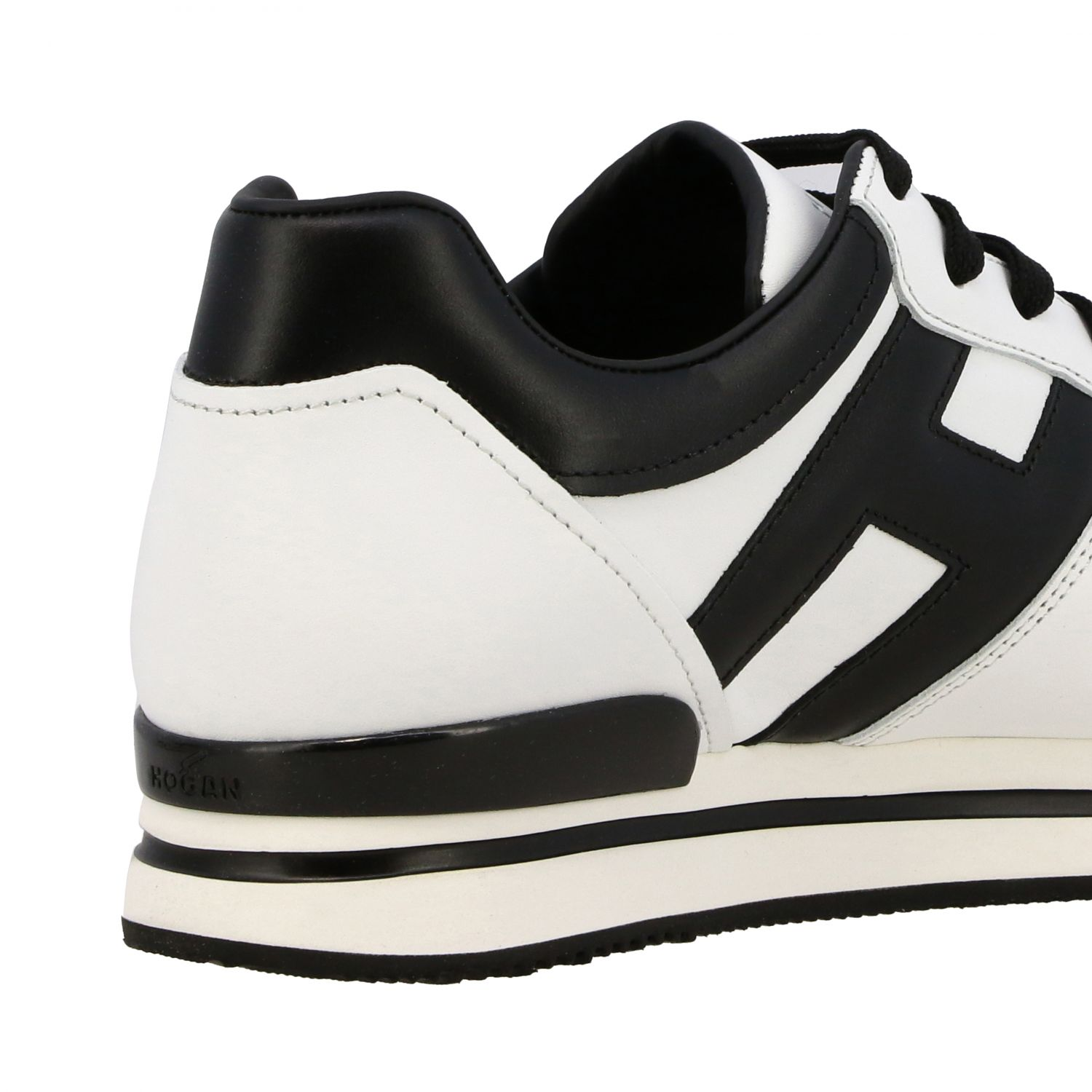 Sneakers 222 Hogan in pelle con big H bianco 5