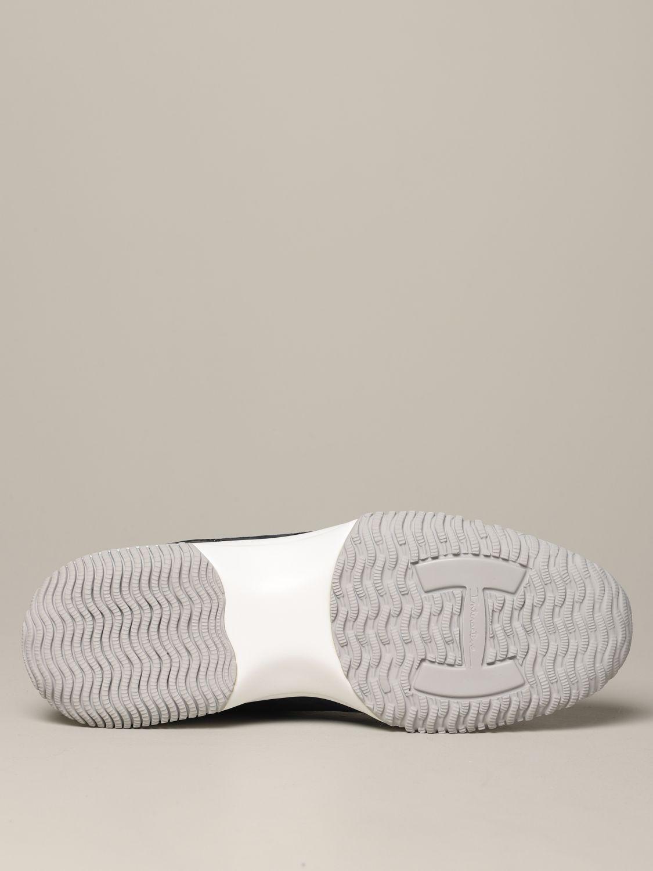 Hogan Interactive 绒面革帆布运动鞋 蓝色 6