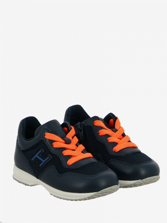 Shoes kids Hogan Baby blue 2