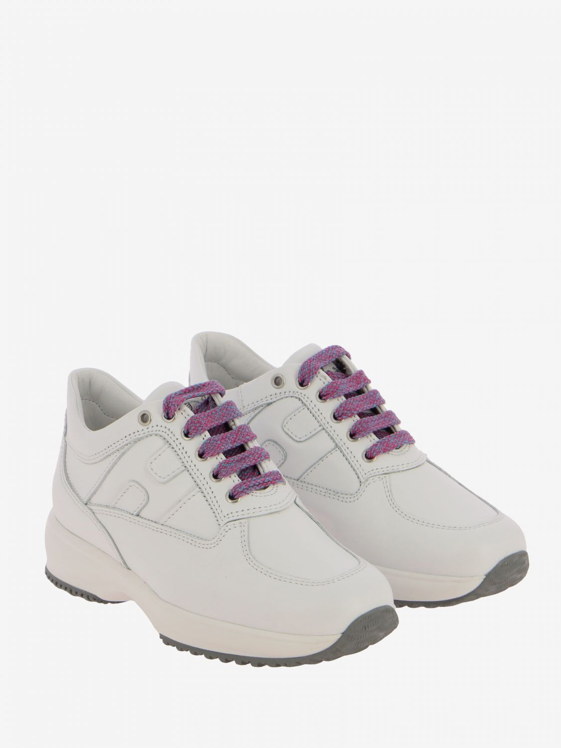 Shoes kids Hogan white 2