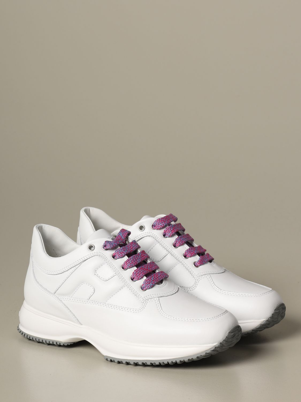 Shoes kids Hogan white 2