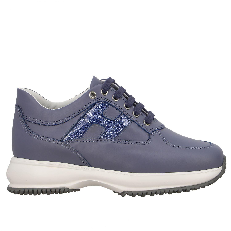 Shoes kids Hogan gnawed blue 1