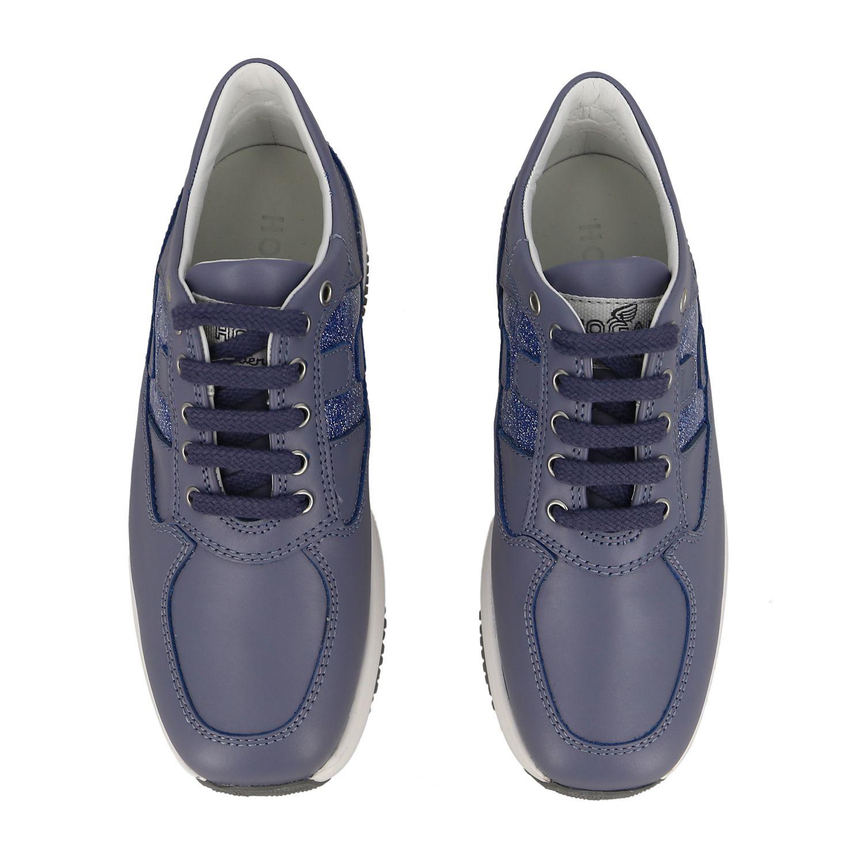Shoes kids Hogan gnawed blue 3