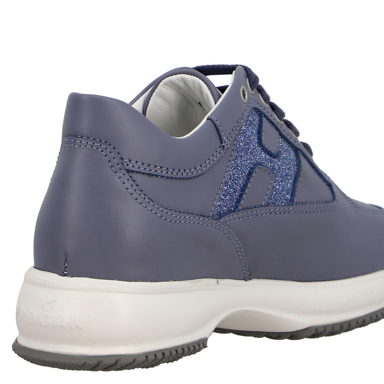 Shoes kids Hogan gnawed blue 5