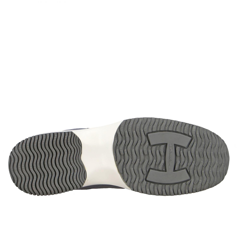 Hogan Interactive 亮片填充H装饰真皮运动鞋 浅蓝色 6
