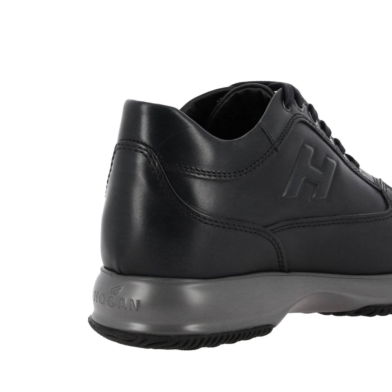 Sneakers Interactive Hogan in pelle con H in rilievo blue 5