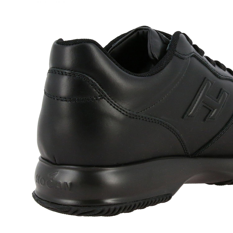 Sneakers Interactive Hogan in pelle con H in 3D nero 5