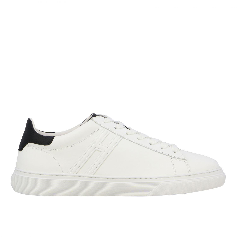 Sneakers 365 Hogan in pelle con big H bianco 1