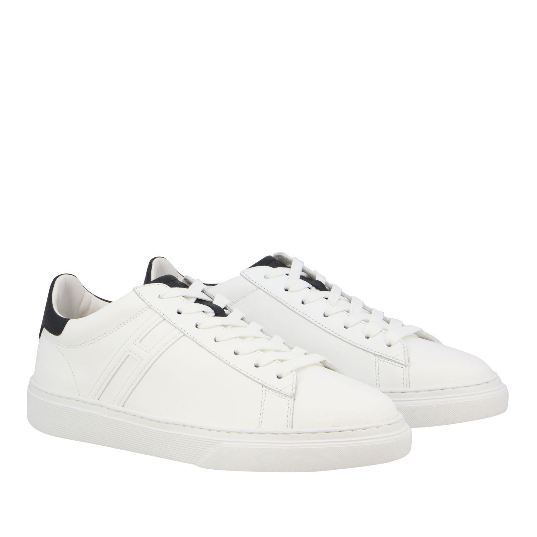 Sneakers 365 Hogan in pelle con big H bianco 2