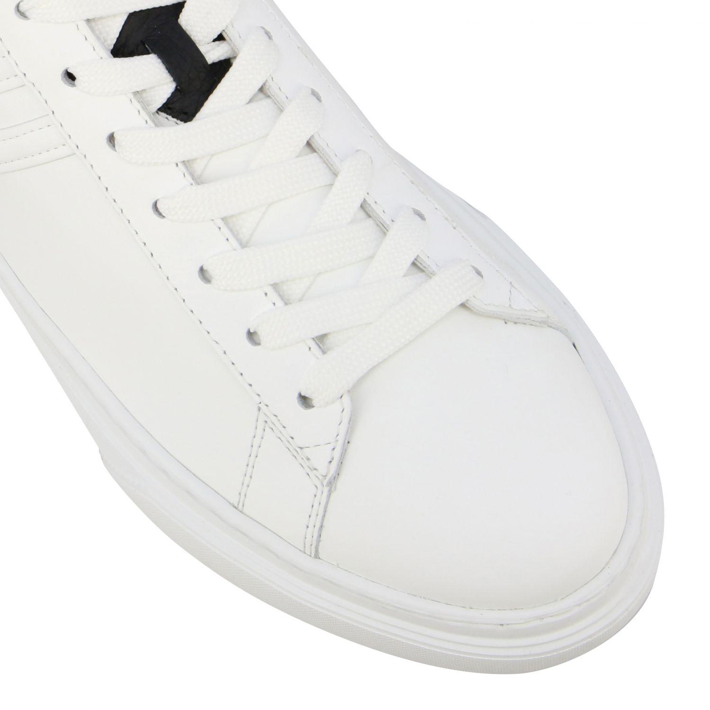 Sneakers 365 Hogan in pelle con big H bianco 4