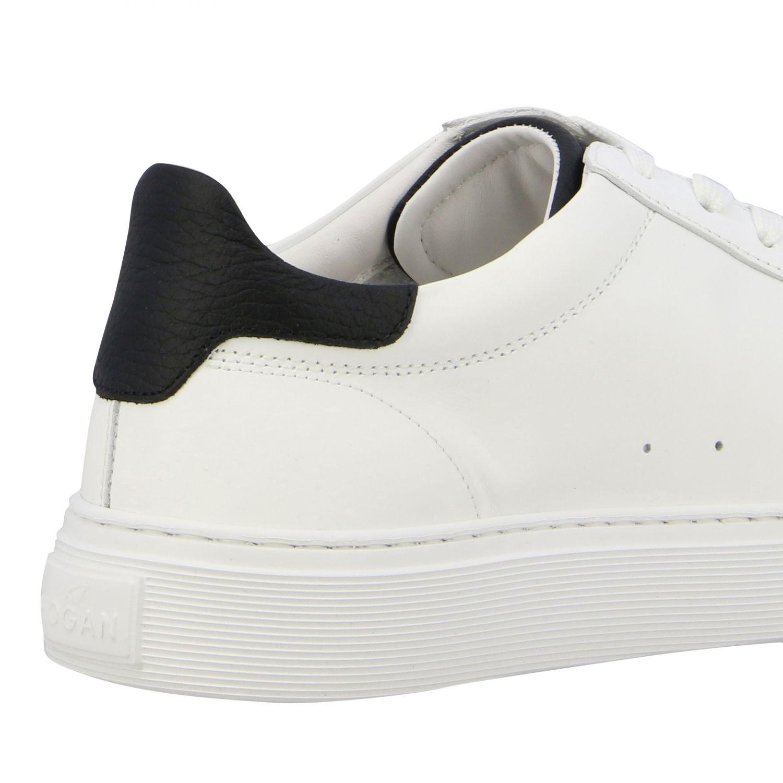 Sneakers 365 Hogan in pelle con big H bianco 5