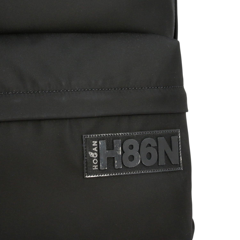 Zaino Hogan in nylon con logo nero 5
